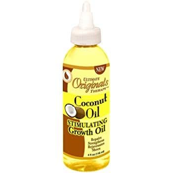 Africa's Best Ultimate Organic Therapy Coconut Oil Stimulating Growth 118ml