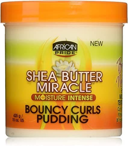 African Pride Shea Butter Miracle Bouncy Curls Pudding 425g