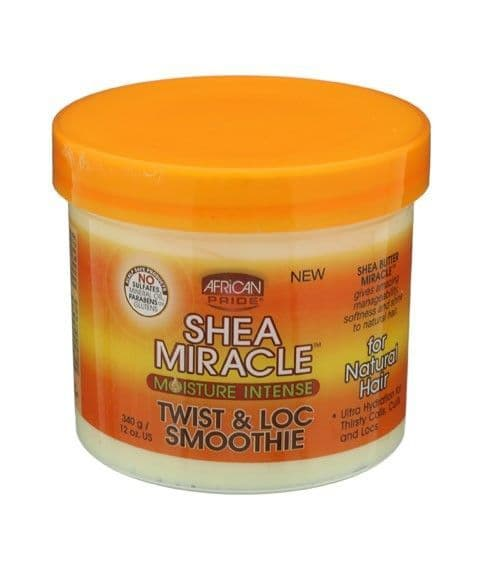 African Pride Shea Butter Miracle Twist and Lock Smoothie 340g