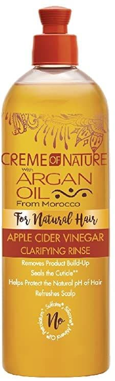 Creme of Nature Apple Cider Vinegar Clarifying Rinse For Natural Hair 15.5oz
