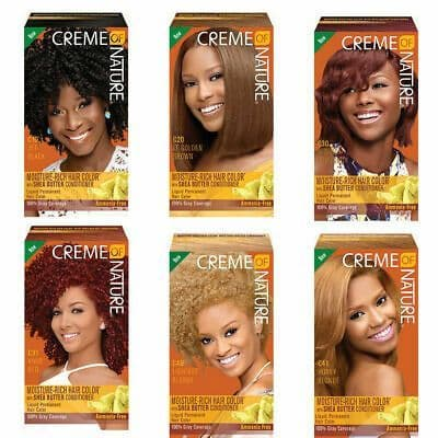 Creme of Nature Moisture Rich Hair Color with Shea Butter Conditioner