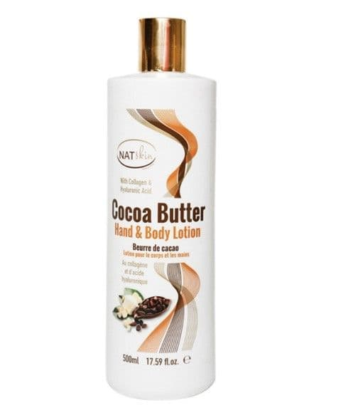 NatSkin Cocoa Butter Hand And Body Lotion 500ml