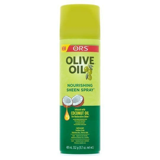 ORS Olive Oil Nourishing Sheen Spray Infused with Coconut Oil 472ml