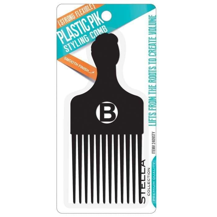 Stella Collection Plastic Pik Styling Comb