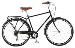 Probike Vintage Black 7SPD - 700C Gents Heritage Bike