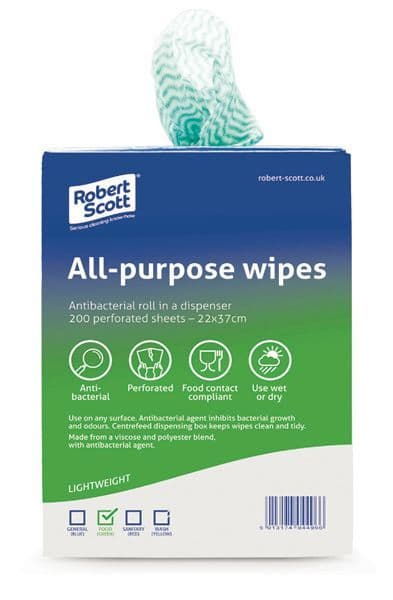 All Purpose Wipes x 200