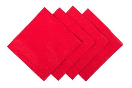 Cocktail Napkins Red