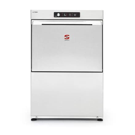 Sammic X-45B Glass/Dishwasher Compact dishwasher. 450x450mm. racks. Max. loading height: 330mm.