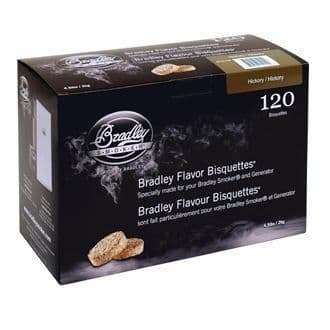 Bradley Hickory Bisquettes 120 pack GK677