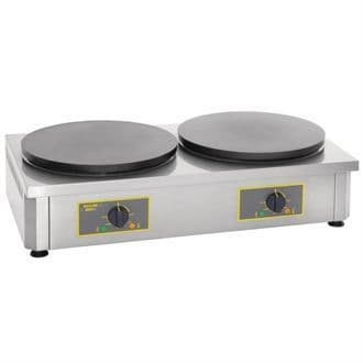 Roller Grill Double Electric Crepe Maker CDE400 GD345