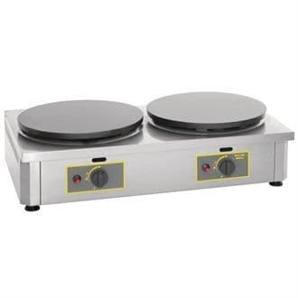 Roller Grill Double LPG Gas Crepe Maker CDG400 GD346-P