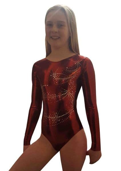 COSMIC DARK RED LONG SLEEVED From only £29