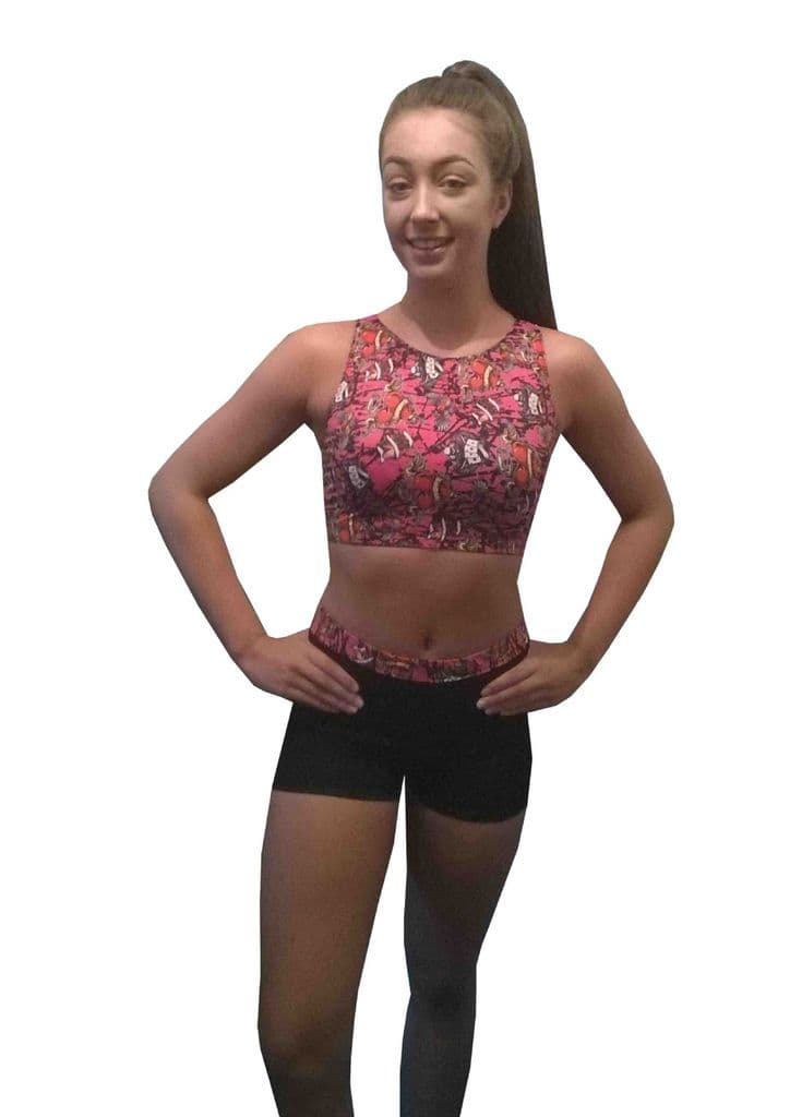 Shorts and Crop Top Set 4 From £32.95