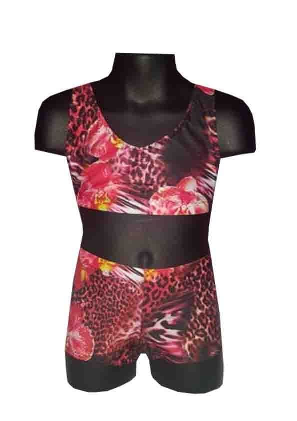 Summer Orchid Shorts and Crop Top Set  From £32.95