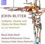 John Rutter - Anthems, Hymns and Gloria for Brass Band