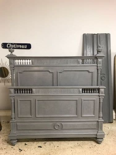 Antique King Size  French Bed - b96