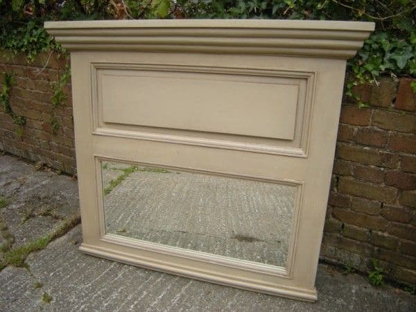 French Style Over Mantle Mirror