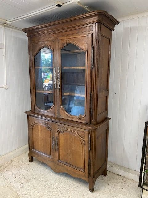 Impressive Antique French Display / Cupboard  -g8