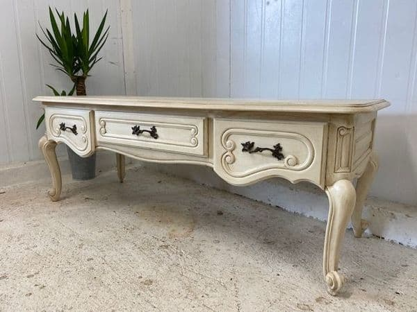 Lovely French Low Table - Ideal for TV etc. - ca175