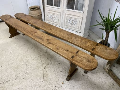 Lovely Pair French Benches  - ha67