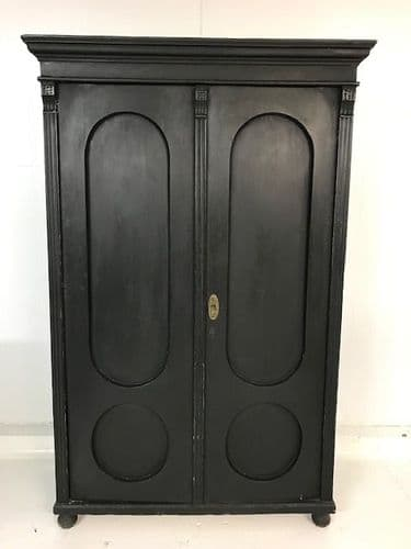 Old  Armoire / Wardrobe / Cupboard - ca92