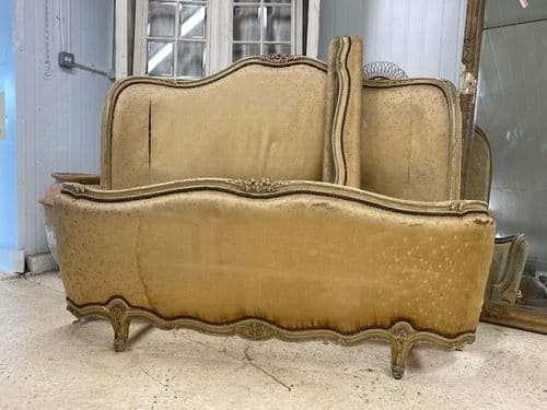 Rare Vintage King Size French Bed -  Great Quality Frame -b75