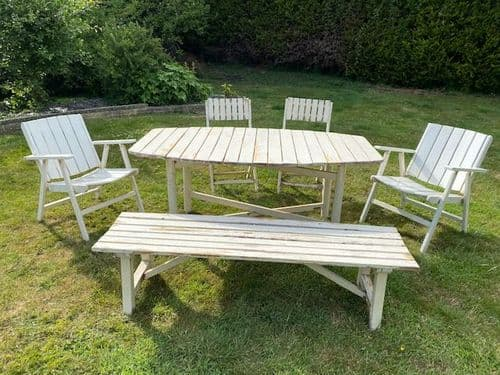 SOLD  - French Garden Set / Patio Set