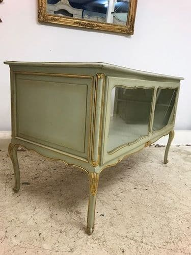 SOLD - French LVX Style Shop Display Unit / Counter -  s112