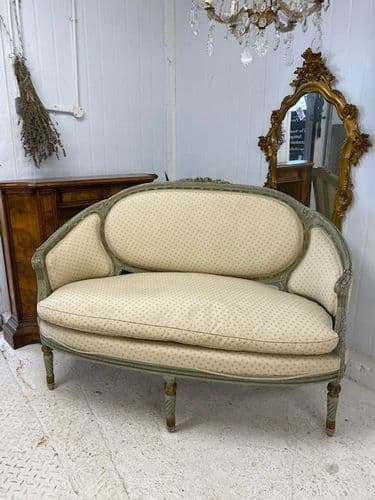 SOLD - Impressive French Canape - superb detail - Just In - hg411