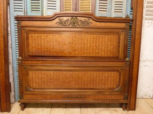SOLD - RARE Impressive Antique French Bed