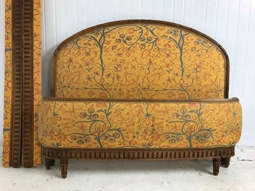 SOLD - Vintage King Size  French Bed -  b45