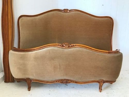 SOLD - Vintage King Size French Bed - hs191