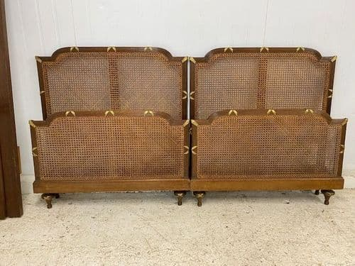 Vintage French Single Beds - a67