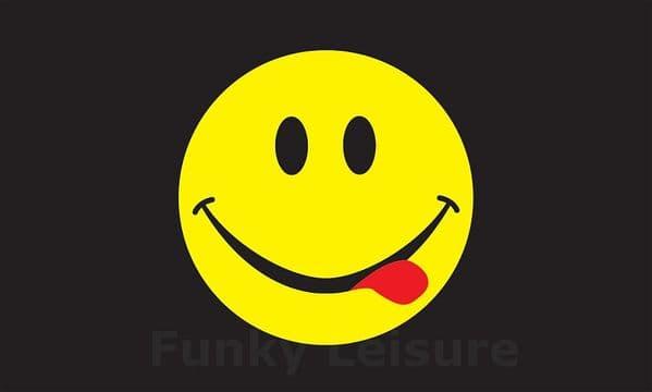 Acid Smiley Flag