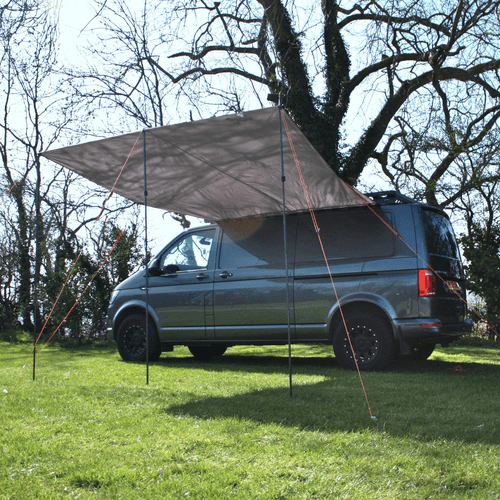 Debus VW T4/T5/T6 Sun Canopy – Anthracite Grey