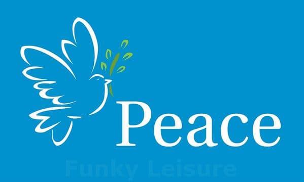 Dove of Peace Flag