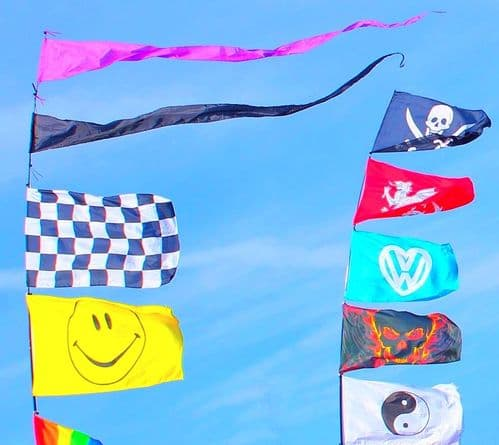 Funky Festival Flags & Windsocks