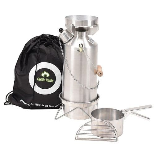 Ghillie Kettle Adventurer 1.5L Aluminium - Combo Cook Kit