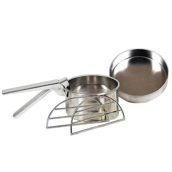 Ghillie Kettle  Aluminium Cook Kit - Explorer/Adventurer
