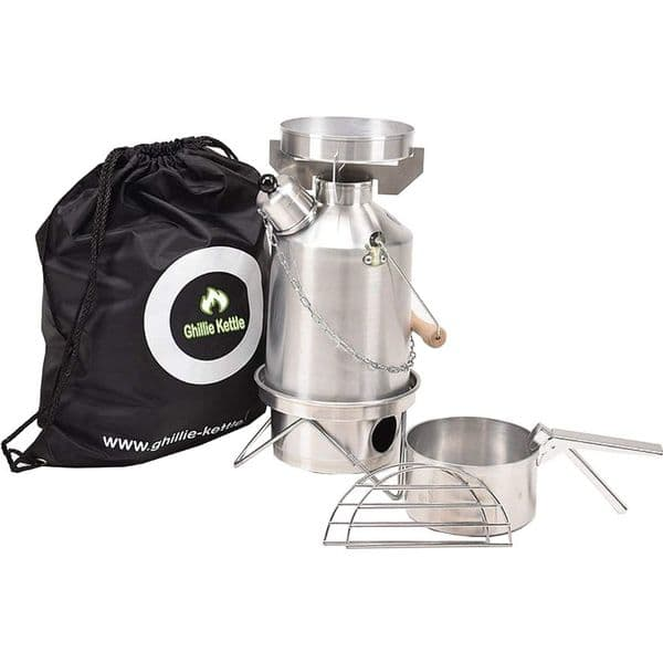 Ghillie Kettle Explorer 1.0L Aluminium - Combo Cook Kit