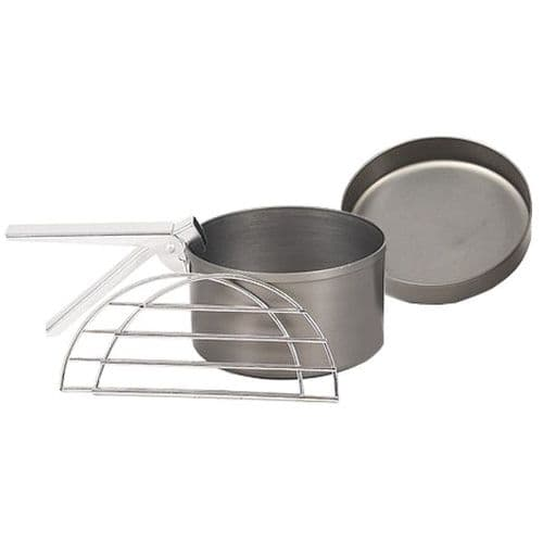 Ghillie Kettle  Hard Andodised Cook Kit - Explorer/Adventurer