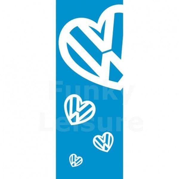 I Love My VW Banner Flag
