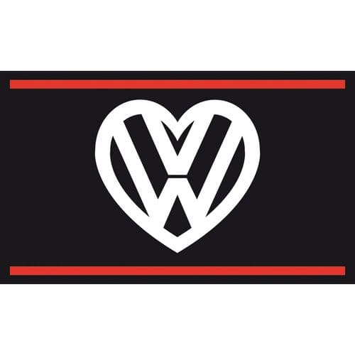 I love my VW Flag - Black
