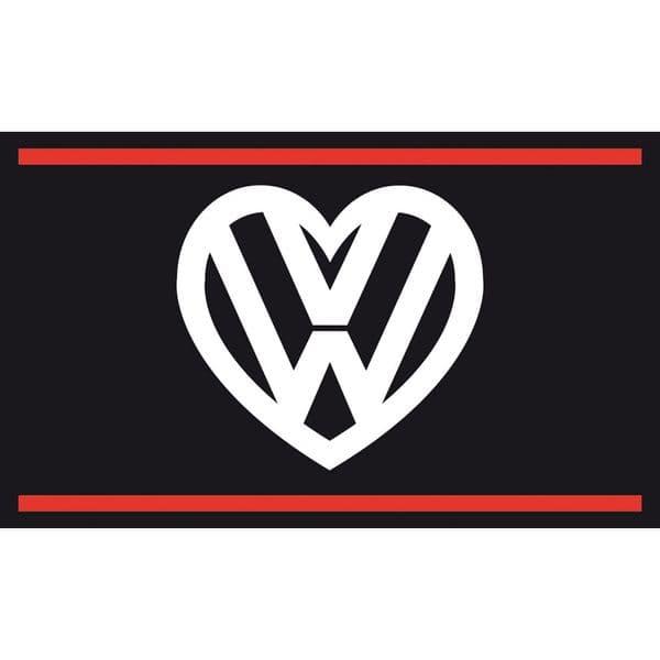 I love my VW Flag - Black