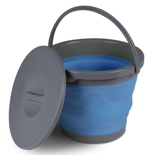 Kampa Folding Bucket - 5 or 10  Litres