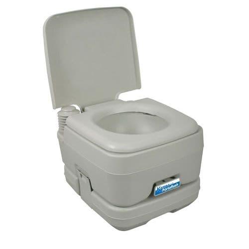 Kampa Portaflush 10 Flushing Portable Toilet