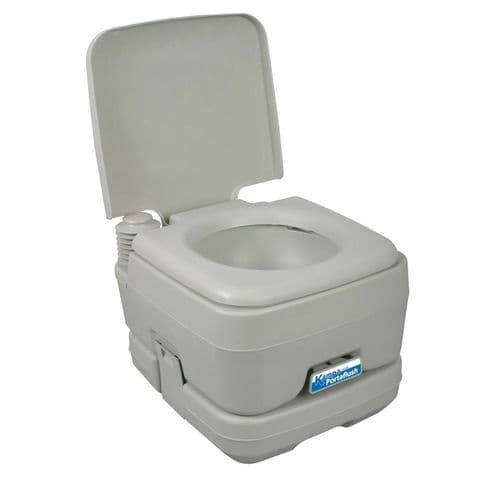 Kampa Portaflush 10 Flushing Portable Toilet