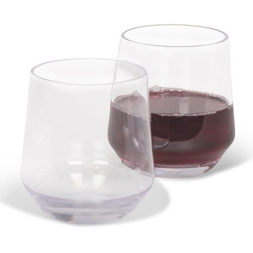 Kampa Soho Stemless Tumbler/Wine Glass - Pack of 2