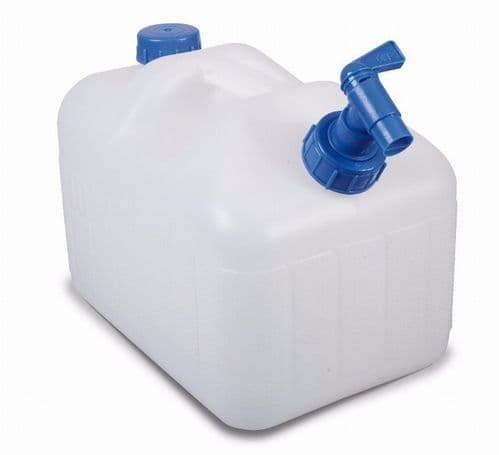 Kampa Splash Jerrycan Water Carrier with Tap - 10 or 23 Litres