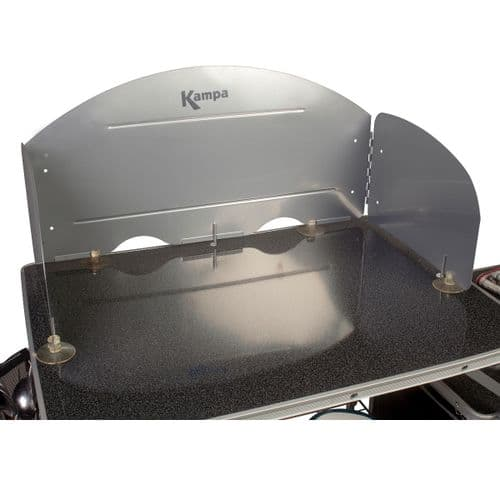 Kampa Universal Camp Cooker/Stove Windshield